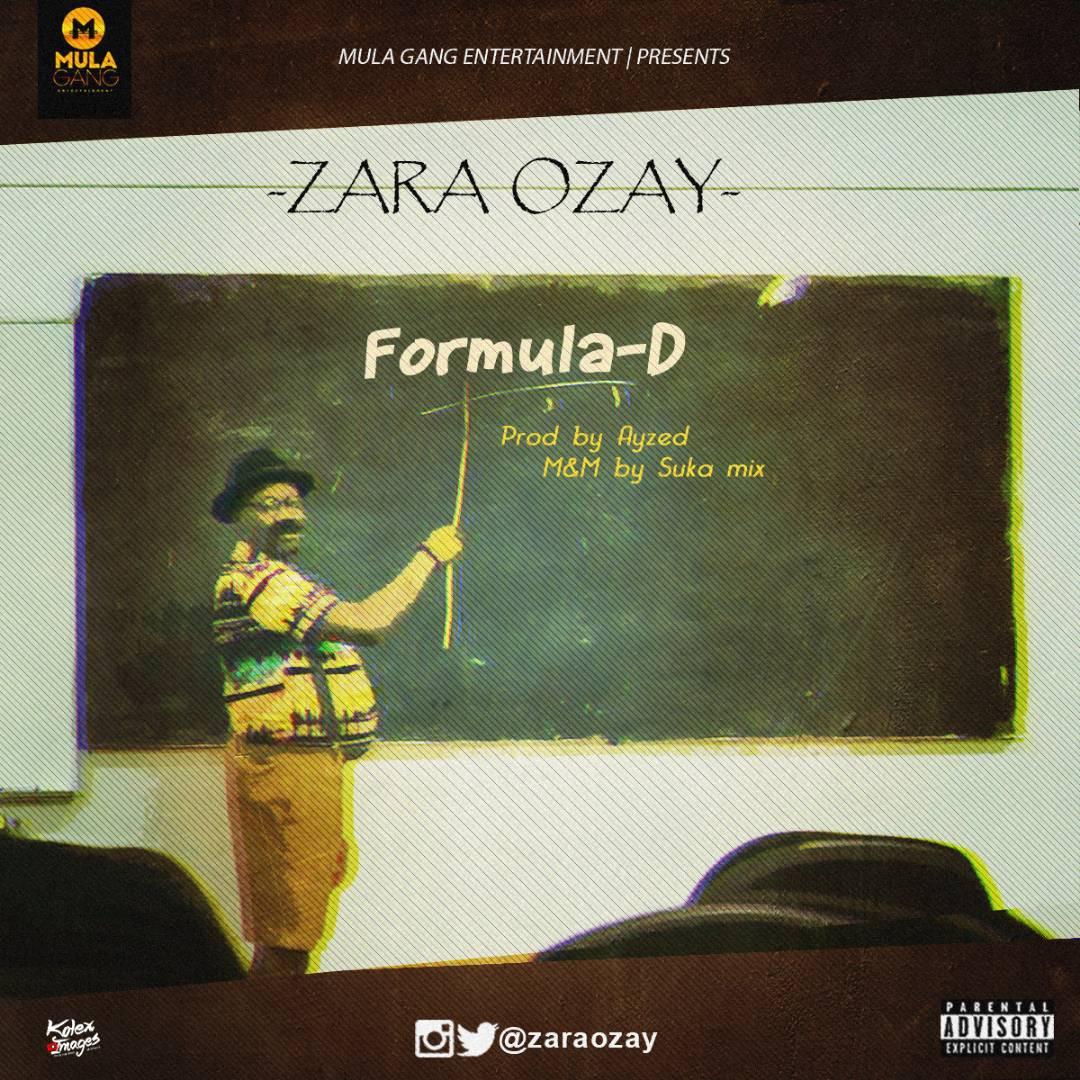 Zara Ozay – Formula-D