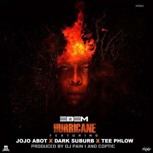 VIDEO: Edem – Hurricane ft. Teephlow x Dark Suburb x JoJo Abot