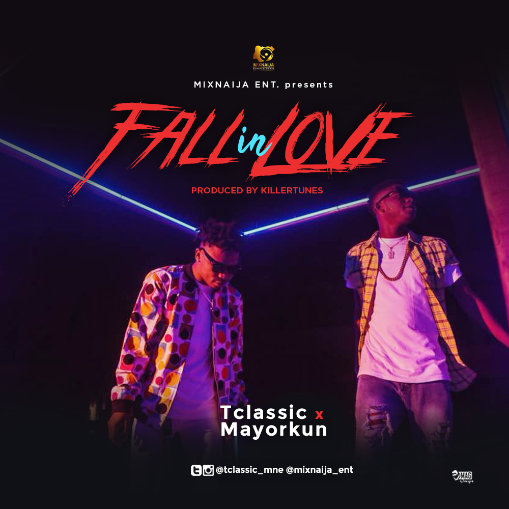 T Classic ft. Mayorkun – Fall In Love