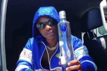 Wizkid Becomes Brand Ambassador For Ciroc