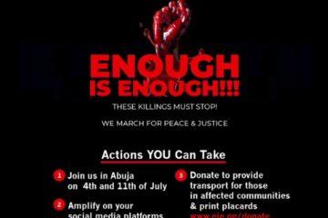 Enough Is Enough! #NigerianLivesMatter