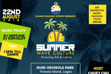 Sallah In Lagos: 94 And Kinging Events Presents Summer Wave Culture