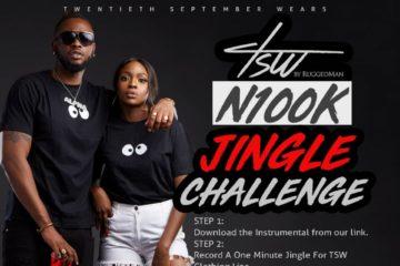 Win N100,000  For #TswJinglesChallenge