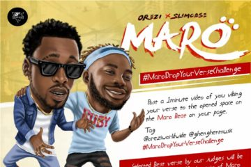 Orezi – Maro | Drop Your Verse Challenge