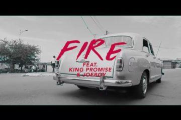 VIDEO: GuiltyBeatz ft. King Promise & Joeboy – Fire