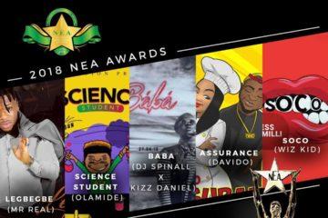 NEA Awards 2018 | Nominees List