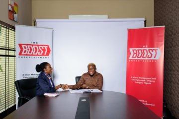 Renowned Songwriter-Singer, Kay Jay Ogbonna signs Multi Million Naira Deal with The Boost Entertainment