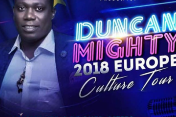 Duncan Mighty About To Take On Europe With His Culture Tour