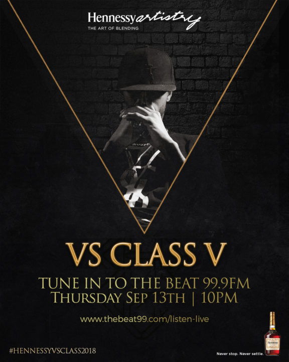"""Gochi"" Steals The Show on Week 2 of Hennessy VS Class V"