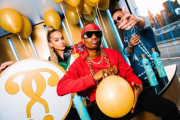 Moschino Unveils Collaboration With Ciroc X Wizkid | Photos