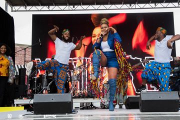 Yemi Alade Electrifies New York Alongside Teyana Taylor For Essence's Event [PHOTOS]