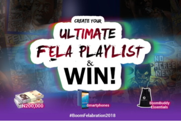 "Boomplay Backs ""Felabration 2018"", Rolls Out The Ultimate FELA Playlist Challenge"