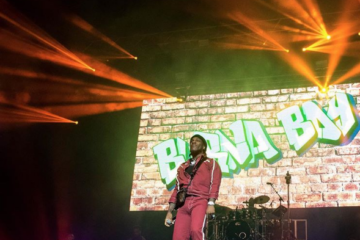 Burna Boy Sold Out & Shut Down O2 Academy, Brixton!