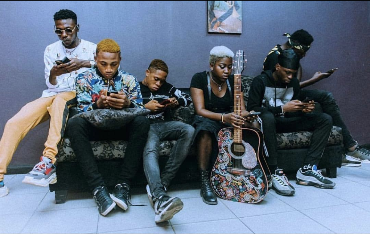 VIDEO: New YBNL Acts Dropping Freestyles on Cool FM 96 9 - Notjustok