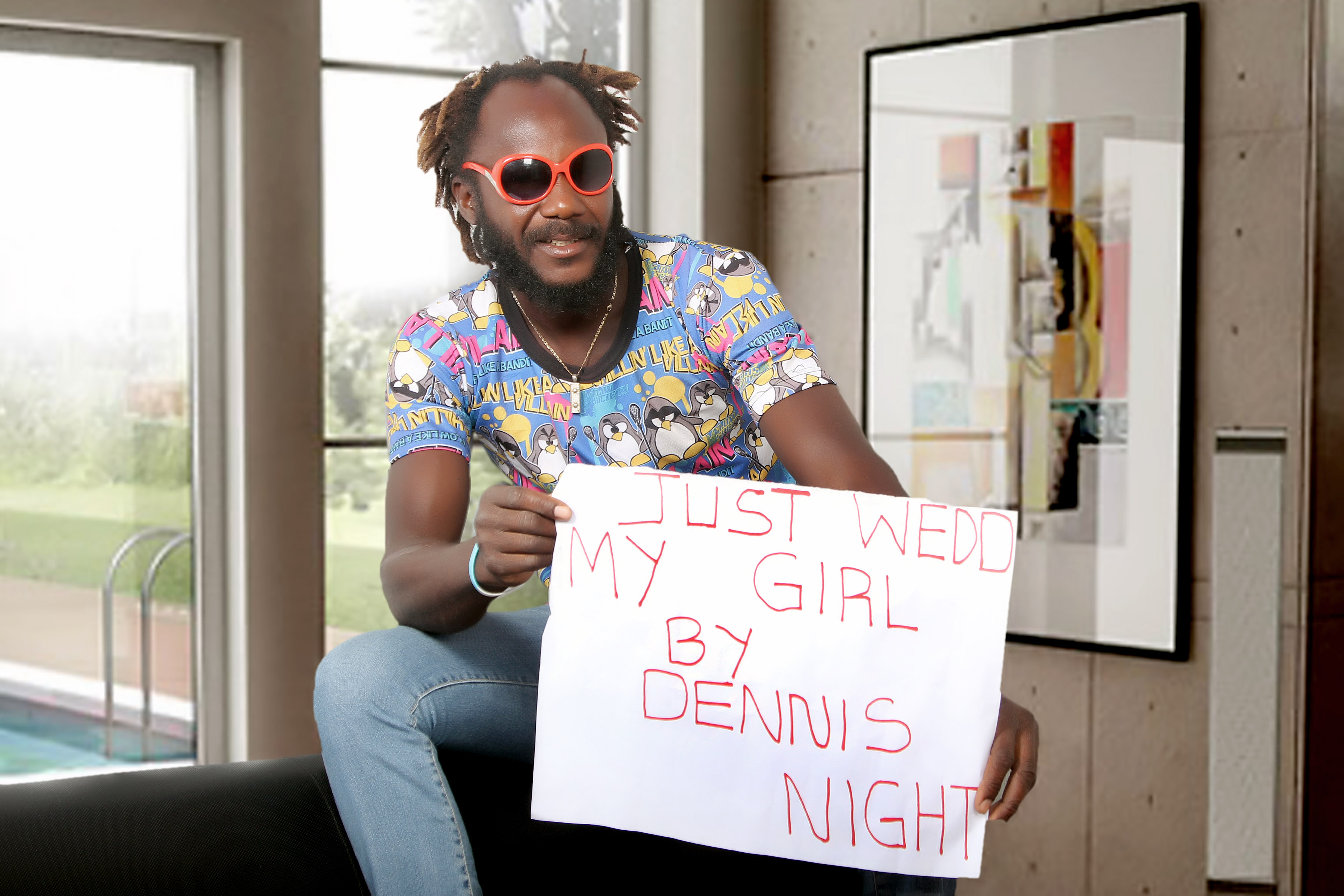 DENNIS NIGHT MUSIC WORLD – just wedd my girl