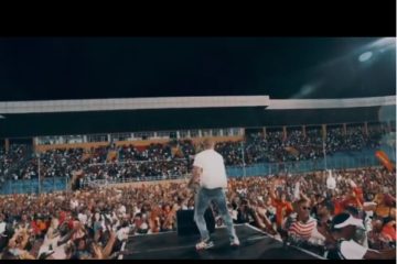 Regardless Of The Rain, Davido's Performance Was Electrifying At Liberia's Biggest Concert Of The Year
