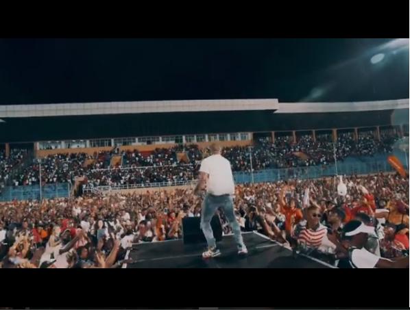 Watch Davido Shut Down Liberia's Biggest Concert Of The Year In The Rain!