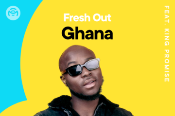 "King Promise debuts as Mino Music ""Fresh Out Ghana"" Playlist Star"