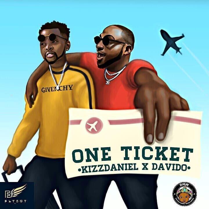 Kizz Daniel & Davido's 'One Ticket' Takes No.1 Spot On YouTube Nigeria