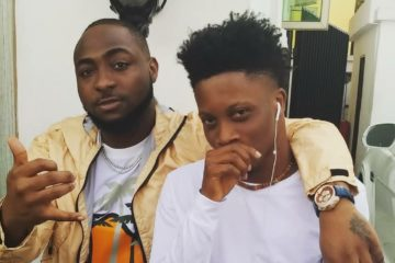 Davido Might Be Signing Oxlade To DMW Sooner Than You Think!