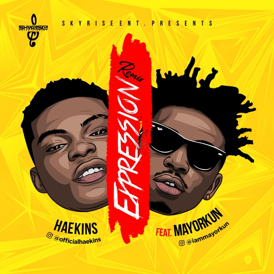 Haekins ft. Mayorkun – Expression (REMIX)