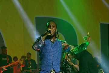 #BurnaLive: Burna Boy Gave A Show Worth The Hype & More!