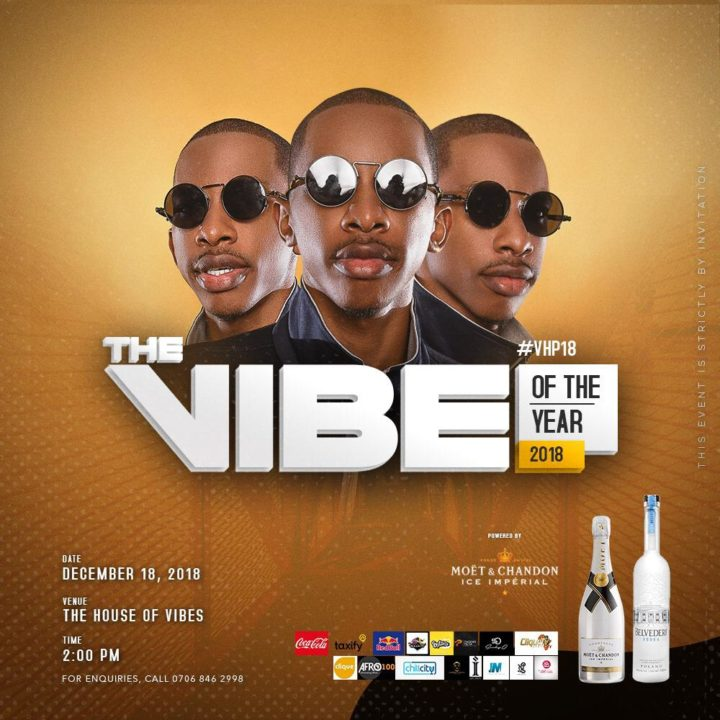 "DJ Consequence Set To Host ""The Vibe of The Year"" House Party #VHP18"