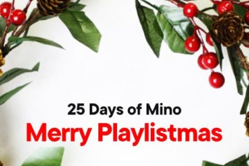"Christmas Is Here! Listen to ""Merry Playlistmas"" on Mino Music"