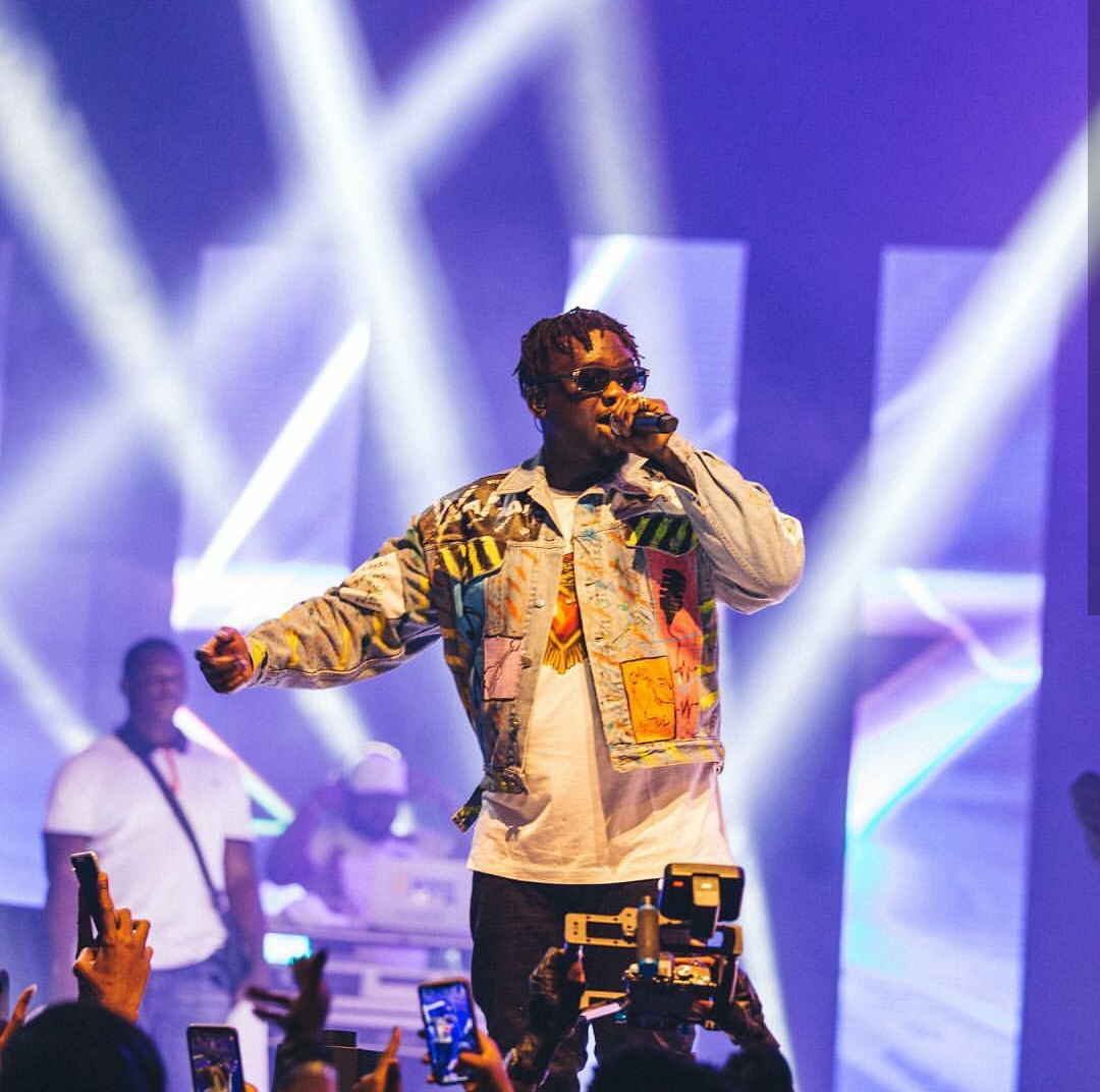Epic Performance of Classics, Hits & Burna's Surprise All At King Coal in Concert