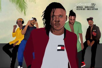 Stonebwoy ft. Medikal, DarkoVibes, Kelvyn Boy, Kwesi Arthur – Kpo K3K3
