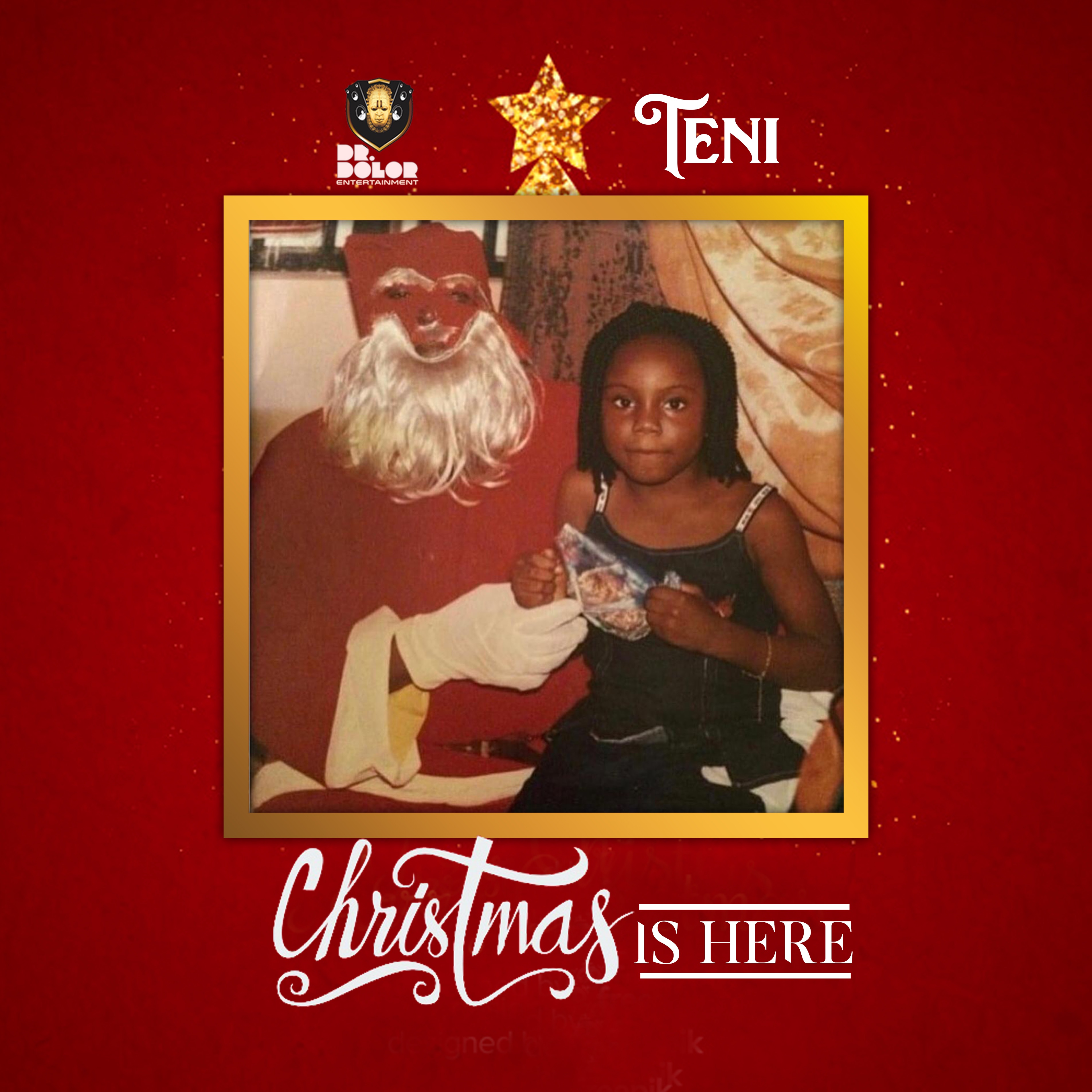 Christmas Is Here.Teni Christmas Is Here Notjustok