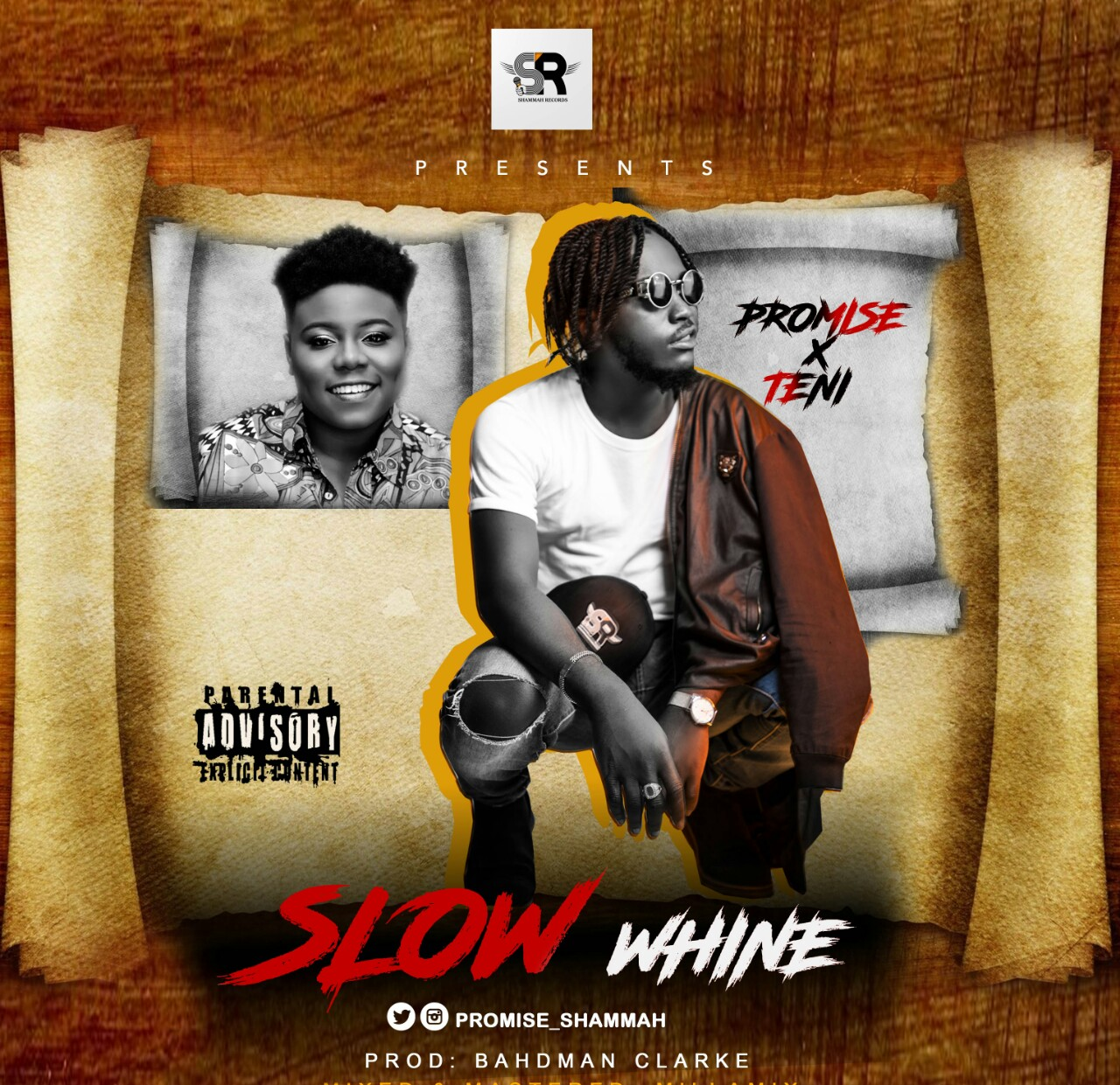 Promise ft. Teni – Slow Whine (Prod. by Bahdman Clarke)