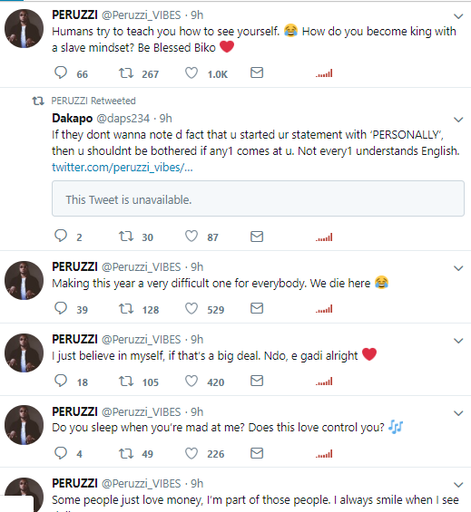 Celebrity »» Peruzzi Attacked On Twitter For Awarding