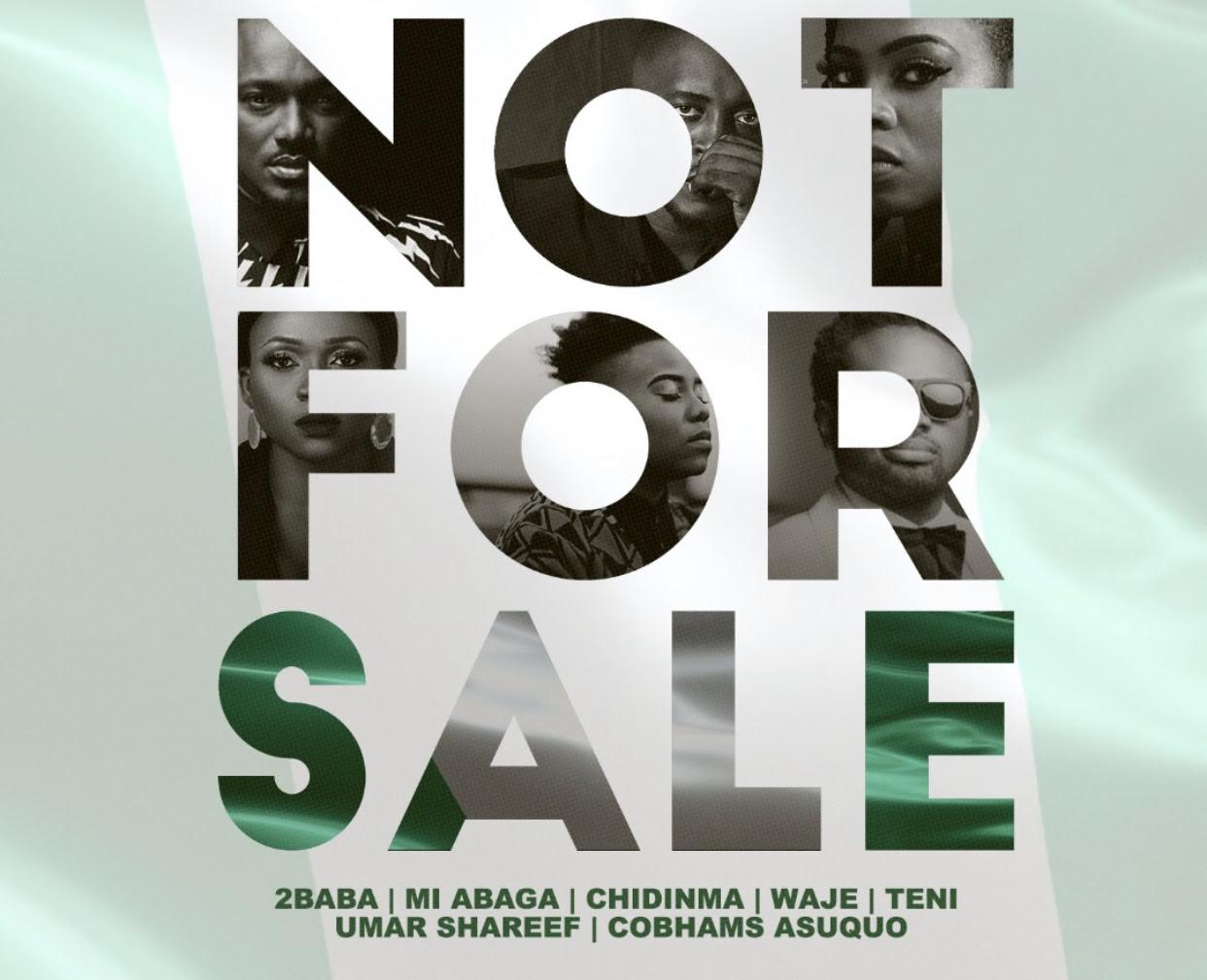 VIDEO: 2Baba x MI Abaga x Teni x Waje x Chidinma x Cobhams – Not For Sale