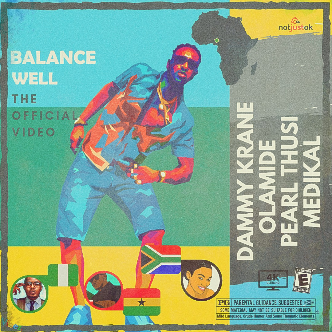 VIDEO: Dammy Krane - Balance Well ft. Olamide X Medikal X Pearl Thusi | Poka X DJ YK Beat