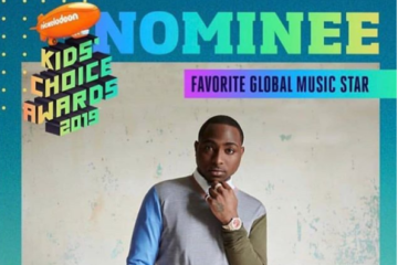 Davido Nominated As 'Favorite Global Music Star' For Nickelodeon Kid's Choice Awards 2019