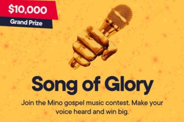 ​$10,000 up for grabs in ​Mino Music Gospel Contest