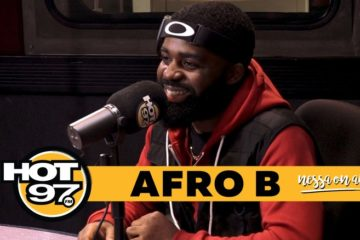 VIDEO: Afro B on His Song Joanna, Shaq's Remix and Future Dream Collabs On Hot 97