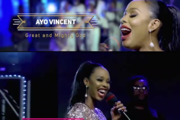 VIDEO: Ayo Vincent - Great & Mighty God (Live In Concert)