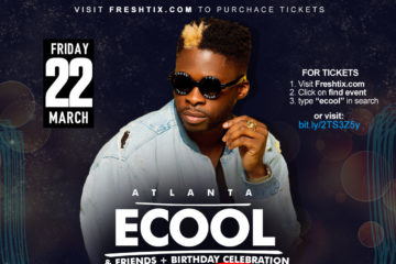 DMW's Dj Ecool Set To Hold Star-studded Birthday Concert in Atlanta | View Details