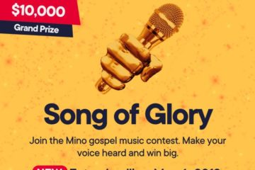 Mino Gospel Contest Submission Deadline Extended to May 6, 2019