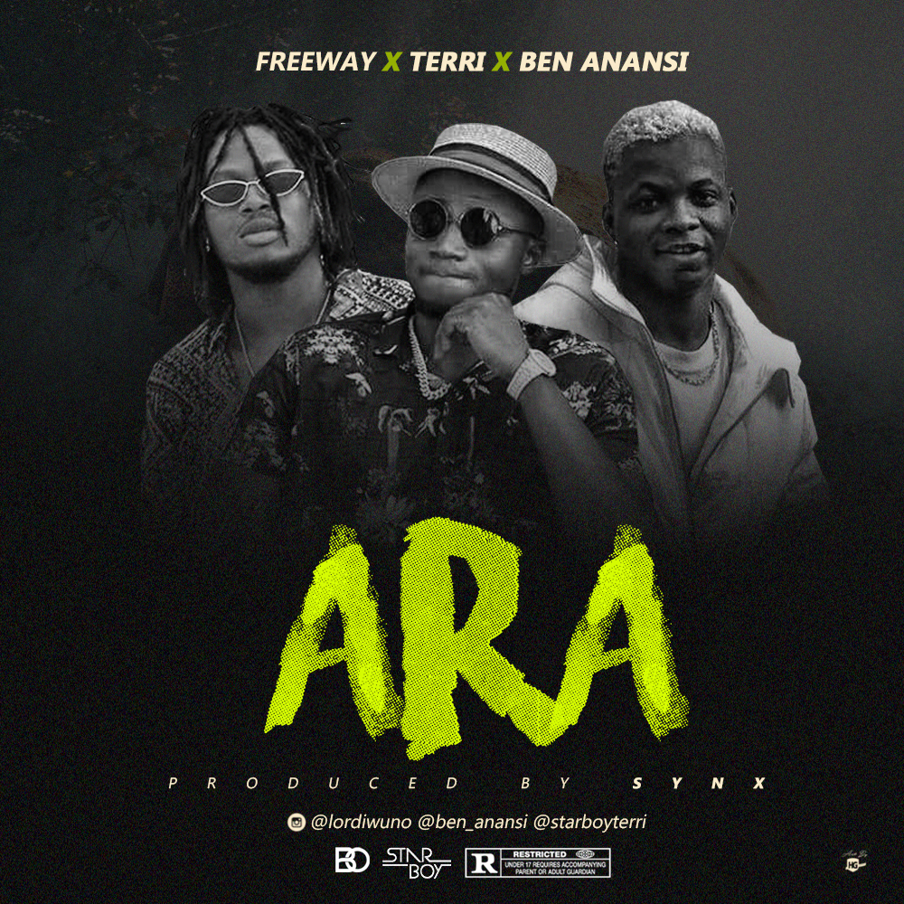 VIDEO + AUDIO: Freeway x Terri x Ben Anansi – Ara