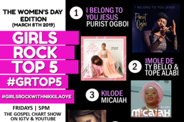 VIDEO: Women's Day Edition – #GRTop5 Chart Show with Nikki Laoye