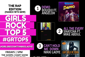 VIDEO: The Rap Edition – #GRTop5 Chart Show with Nikki Laoye