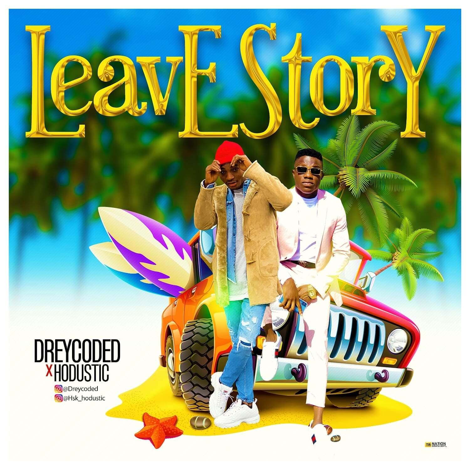 DreyCoded ft. Hudostic – Leave Story