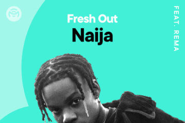 Mavin star, Rema Covers The 'Fresh Out Naija' Playlist on Mino Music