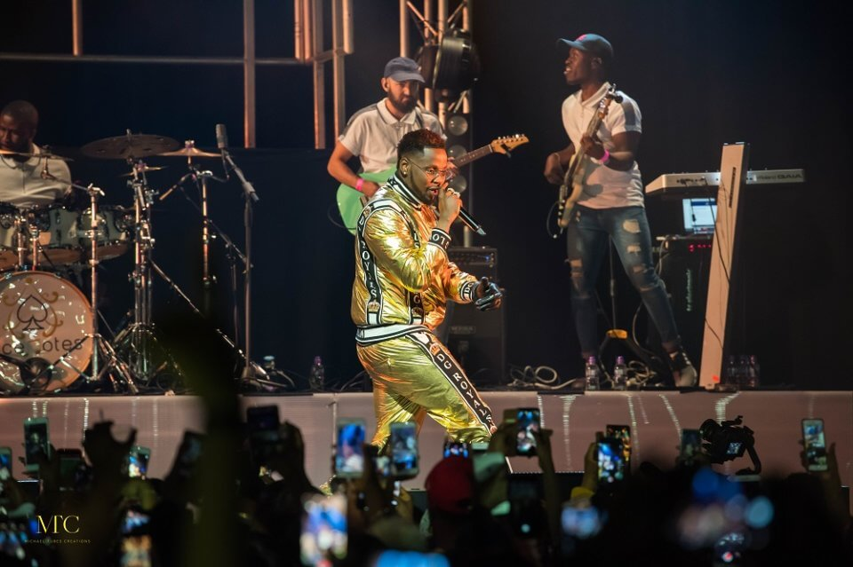 Kizz Daniel NBS Tour at Indigo at the O2