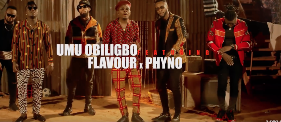 Umu Obiligbo ft. Phyno Video