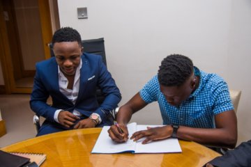 Fast Rising Star, Timz Joins Anonymous Music
