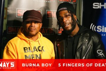 VIDEO: Burna Boy Talks Colorism & Culture in Africa & Nipsey Hussle's Impact on the World On Sway In The Morning